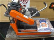 HUSQVARNA MS355 MASONRY SAW, WET CUT, ELECTRIC, 14 IN. BLADE **MISSING STAND**